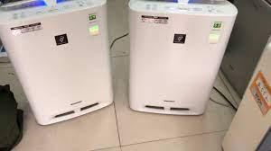Máy lọc không khí nội địa nhật sharp kc-z45 - YouTube