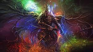 Desktop wallpaper fantasy, art, warrior ...