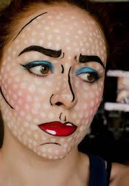 how to pop art ic strip makeup for tutorial