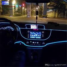 Auto Courtesy Light 2019 1m Flexible El Wire Noen Light Dc 12v Car Interior Led Strip Light Auto Diy Atmosphere Lamp From Fqj18620723997 5 53 Dhgate Com