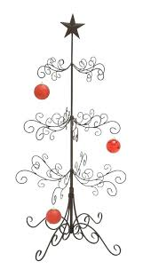 Metal Ornament Tree Display Stand Uk Fascinating How To Make An Ornament Display Tree Black And White Photo Ornament