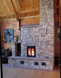 here s a smaller scale masonry heater it shows how heaters can retain the charm of a fireplace while being much more energy efficient