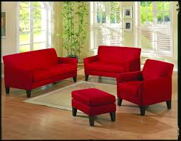 Living Room With Red Living Room Couch Living Room Decor With Brown Leather Sofa
