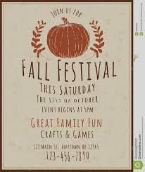 Fall Festival Flyers Template Free Fall Carnival Flyers Barca Fontanacountryinn Com