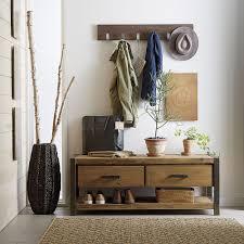 Decorations:Oriental Wooden Coat Rack In Entryway Fits In The Small Room  Vintage Coat Rack