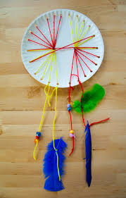 Dream Catcher Craft For Preschoolers Unique Woven Paper Plate Dream Catcher Activity Education