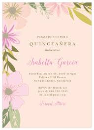 Quincenera Invitations Quinceañera Invitations Match Your Color Style Free