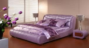 Purple Bedroom Simple Idea