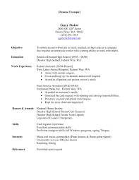 Resume Veterinary Assistant Resume Examples High Resolution