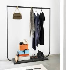Coat Rack Sydney Thin Black Lines Revisited Wardrobes Clothes Racks 65