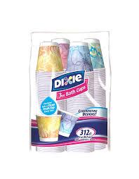 Amazon.com: Dixie Bath Cups - 3 oz - Prints - 312 ct: Kitchen & Dining