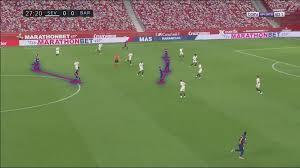 La liga kickoff time : La Liga 2019 20 Sevilla Vs Barcelona Tactical Analysis