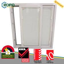 australian upvc pvc plastic sliding window door blinds inside glass designs