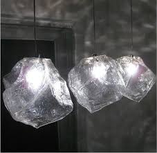 Italian fashion lighting design Ice stone creative 1 light glass