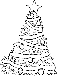 Small Picture Christmas Tree With Stars Coloring Pages Christmas Coloring