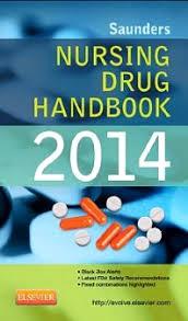 Iv Drug Compatibility Chart 2014 Saunders Nursing Drug Handbook 2014 1st Edition