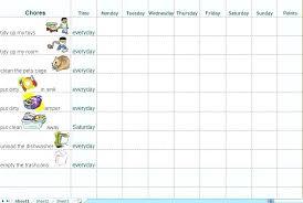 Household Chore Chart House Chores House Chore List Chores Template D Ideas Checklist