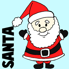 cute santa claus drawing. Fine Drawing Easy Instructions For How To Draw Santa Clause Kids In Cute Claus Drawing D