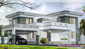 2875 square feet flat roof home kerala home design and for flat roof house plans kerala