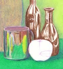still life oil pastel 16