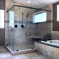 shower stall with door glass shower door installation cost