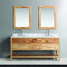 bathroom mirror scratch removal malibu ca youtube: design element london  inch oak finish double sink vanity set with mirror