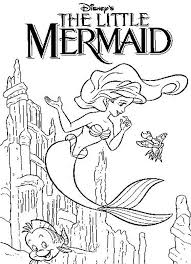 Small Picture Little Mermaid Coloring Pages GetColoringPagescom