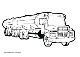 coloring pages wheeler truck for semi peterbilt printable summer crayola dum