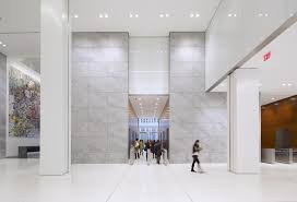 1221 Avenue of the Americas renovated lobby`