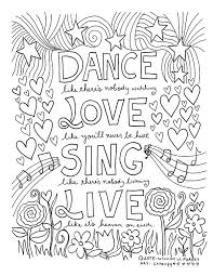 Keep Calm And Dance On Coloring Pages Printable Fun For Kids