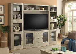 ... Wall Units, Breathtaking 4 Piece Entertainment Wall Unit Tv Wall Units  For Living Room With ...