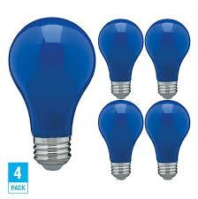 Ebay Light Bulbs Pack Led Bulb Blue Green Red Yellow Orange Pink A19 Medium E26 60w Watt Dimmable