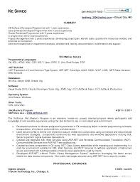 resume for experienced software developer lovely photograph of sample resume  of experienced software 2 year experience