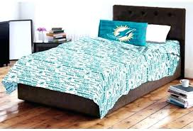 miami dolphins bed set dolphins bed sets dolphins bedding sheet twin set sports patterned bedding dolphins