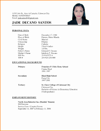 Example Of Resume For Abroad Sample Resume For Abroad Format Inspirational Resume Overseas 22