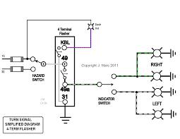 flasher relay wiring diagram 550 Flasher Wiring Diagram flashers and hazards 2 Terminal Flasher Wiring