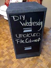 File Cabinet Paint How To Diy Chalkboard Paint Metal File Cabinets Tax Season Diy
