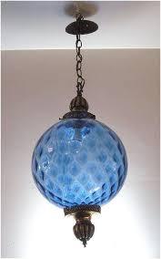 glass globes for lighting fixtures nice blue pendant light cobalt fixture shade