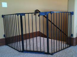 top of stairs baby gate ideas  latest door  stair design
