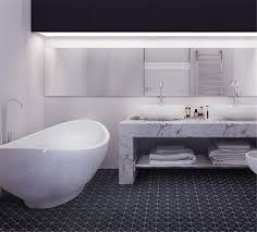 tr2 mb 6 matte pure black triangle mosaic floor tile bathroom