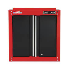 craftsman 2000 series 28 in w x 28 in h x 12 in d steel wall mounted garage cabinet