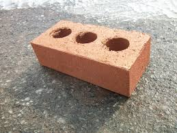 bricks with holes. Plain Holes In Bricks With Holes