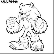 Shadow Coloring Pages To Print Sonic The Hedgehog Coloring Pages
