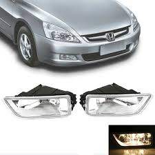 Honda Accord Fog Light Bulb Size Details About 2x Fog Light Car Lights H11 Bulb Kit Black For Honda Accord Acura 2003 2007