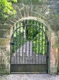 iron garden gates wrought gate perth garde