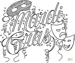 Small Picture Mardi Gras coloring pages Free Printable Pictures