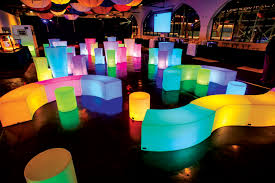 Glow Furniture All The Fun Of The Fair A Wedding At Luna Park Articles Easy