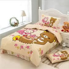 japanese cartoon kawaii bear rilaka bedding