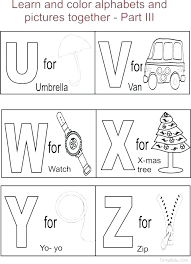 Learning Worksheets Free Coloring Alphabets Pages Preschool Alphabet ...
