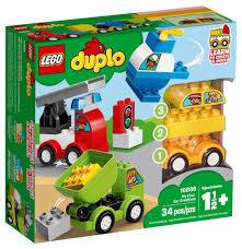 <b>Конструктор LEGO DUPLO</b> 10886 <b>Мои</b> первые машинки — купить ...